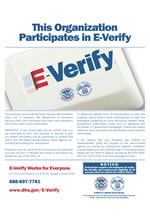 Notice of E-Verify Participation