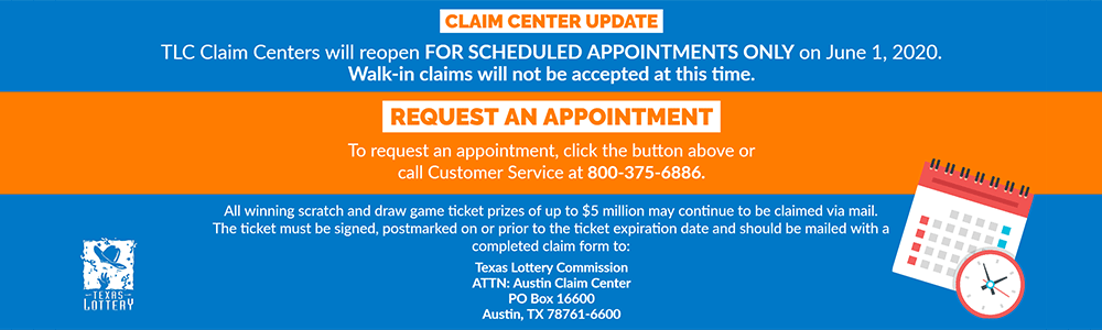 TLC Claim Centers will reopen FOR SCHEDULED APPTS ONLY on June 1, 2020.