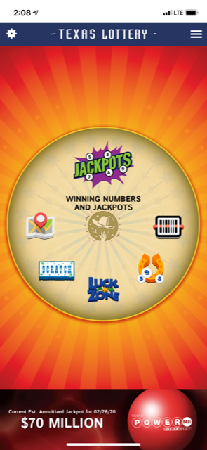 Download the Texas Lottery App