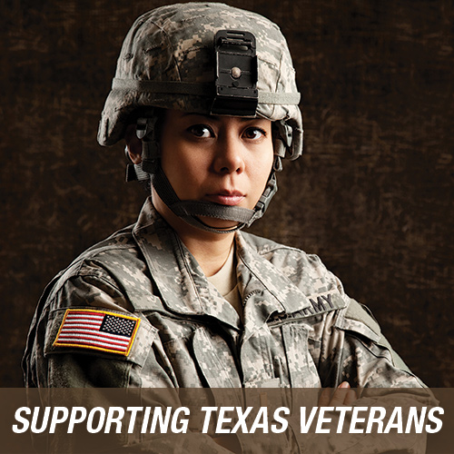 Supporting Texas Veterans