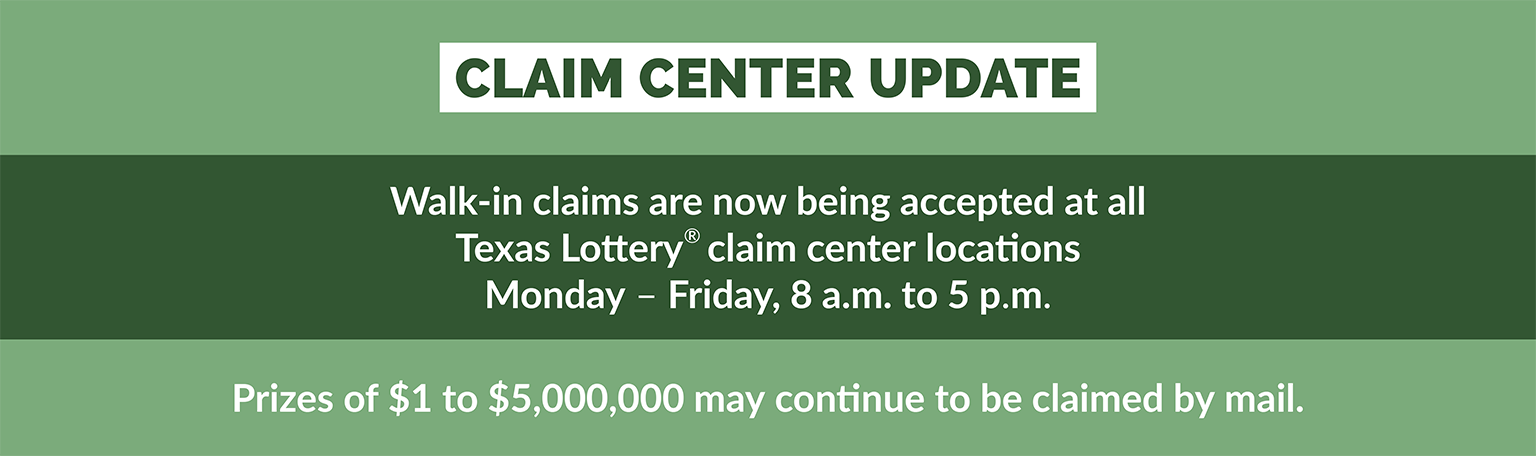 TLC Claim Centers are open FOR SCHEDULED APPOINTMENTS ONLY.