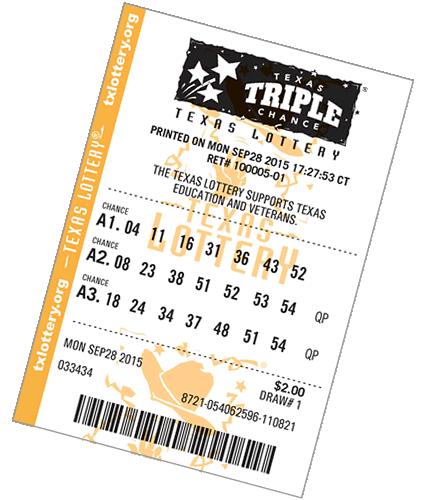 De lottery play 3